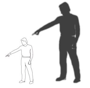 Der Ankläger und sein Schatten
