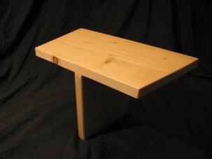 """Adler-Meditationssitz (einbeinige Meditationsbank) - orientiert an der Yoga-Gleichgewichtsübung: """"Der Adler"""""""